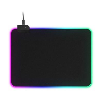 Tapete Gaming RGB LED 350x250mm Preto