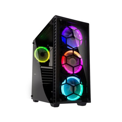 Computer Case Kolink Observatory RGB w/Window E-ATX Black