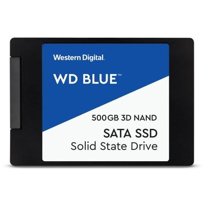 """SSD Disk Western Digital Blue 500GB SATA 2.5"""" (WDS500G1B0A)"""