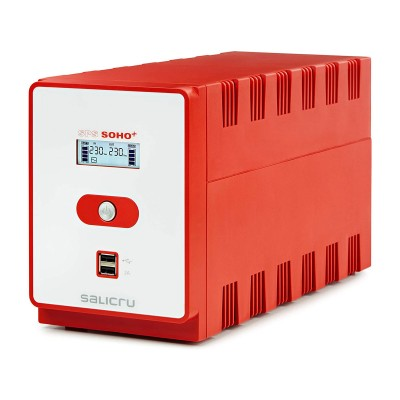 UPS Salicru SPS 1200 SOHO+ 1200VA Red