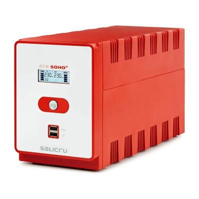 UPS Salicru SPS 1200 SOHO+ 1200VA Vermelha
