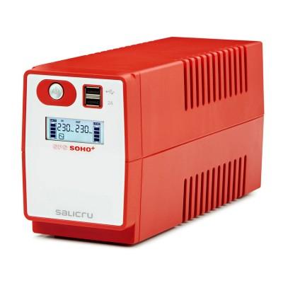 UPS Salicru SPS 650 SOHO+ IEC 650VA Vermelha