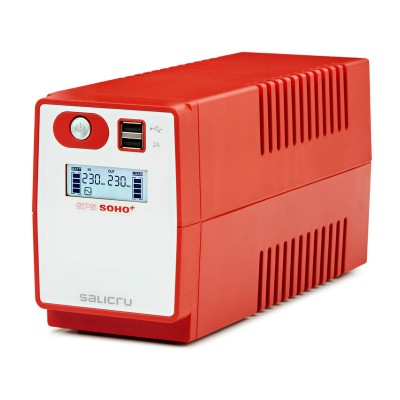 UPS Salicru SPS 500 SOHO+ 500VA Red