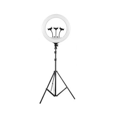 """Suporte Tripod Vidlok Ring Light 18"""" 160cm"""