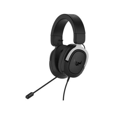 Headset Asus TUF Gaming H3 Preto/Prateado