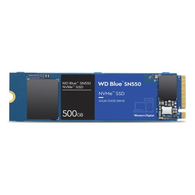 Disco SSD Western Digital Blue SN550 500GB M.2 2280 NVMe