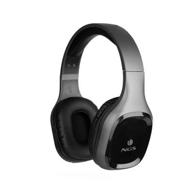 Auscultadores Bluetooth NGS Artica Sloth Cinzentos