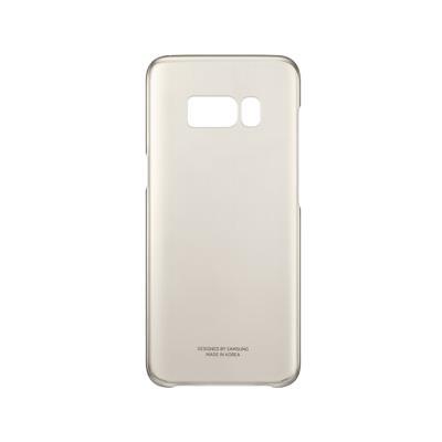 Capa Clear Cover Original Samsung S8 Dourada