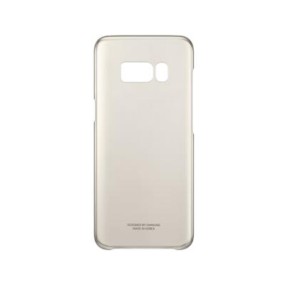 Original Clear Cover Case Samsung S8 Gold