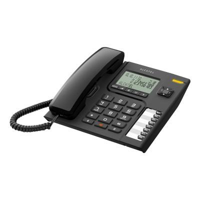 Telefone Fixo Alcatel T76 Preto
