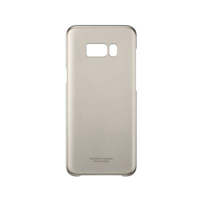 Capa Clear Cover Original Samsung S8 Plus Dourada