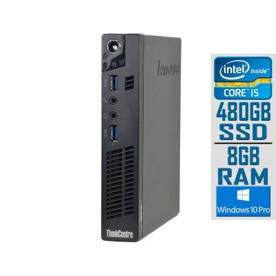 Desktop Lenovo ThinkCentre M92p Tiny i5-3470T SSD 480GB/8GB Refurbished