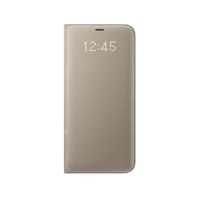Capa Led View Original Samsung S8 Plus Dourada