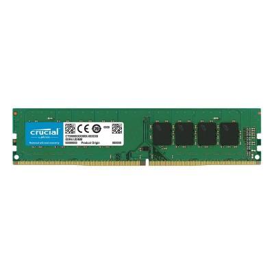 Memória RAM Crucial 8GB DDR4 (1x8GB) 2666MHz Single-Ranked