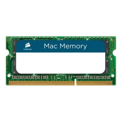 RAM Memory Corsair Mac Memory 8GB DDR3 (1x8GB) 1333MHz (CMSA8GX3M1A1333C9)