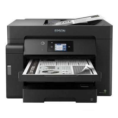 Impressora Multifunções Monocromática A3+ Epson Ecotank ET‑M16600 Preta