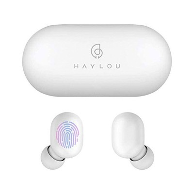 Bluetooth Earphones Haylou GT1 TWS White