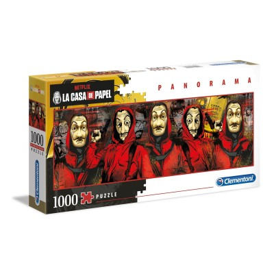 Puzzle Panorama 1000 Pieces La Casa de Papel