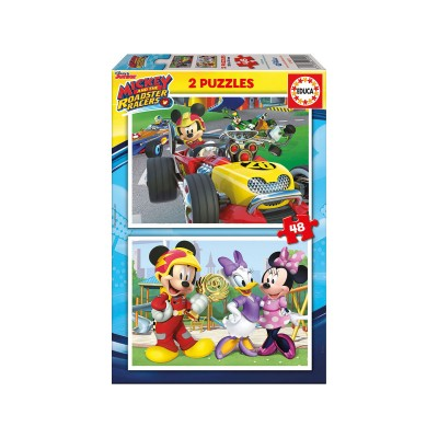 Puzzle Mickey and the Super Pilots 2x48 Pieces