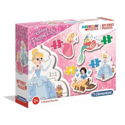 Puzzle Disney Princess 3+6+9+12 Pieces