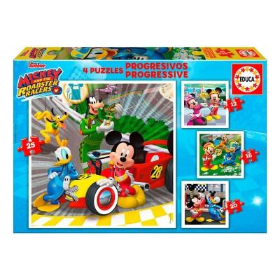 Progressive Puzzle - Mickey and the Super Pilots