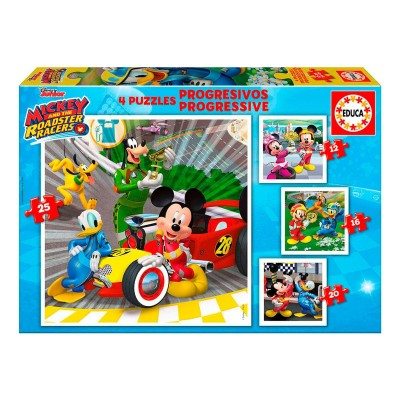 Puzzle Progressivo - Mickey e os Superpilotos