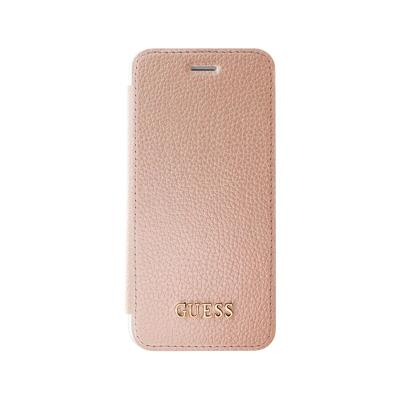 Guess Iridescend Flip Cover Case iPhone 7 Pink (GUFLBKP7GLTRG)