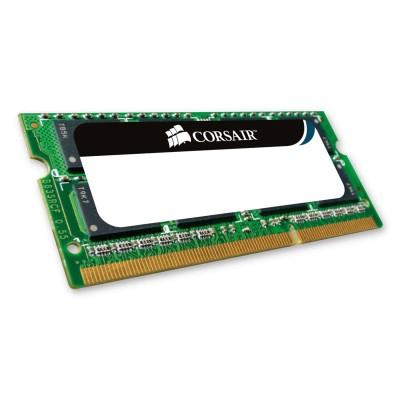 RAM Memory Corsair 8GB DDR3 (1x8GB) 1333MHz (CMSO8GX3M1A1333C9)