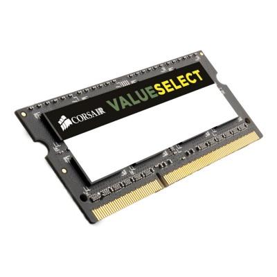 RAM Memory Corsair Value Select 8GB DDR3 (1x8GB) 1600MHz (CMSO8GX3M1A1600C11)