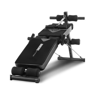 Inclined Exercise Bench Multifunctional Black