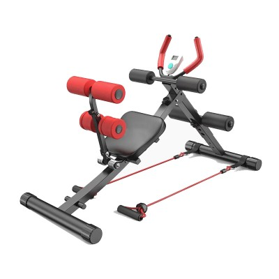 Exercise Bench Multifunctional Black/Red