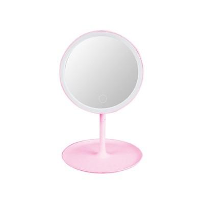 Espelho de Maquilhagem c/ Iluminação LED Q-T99 Rosa
