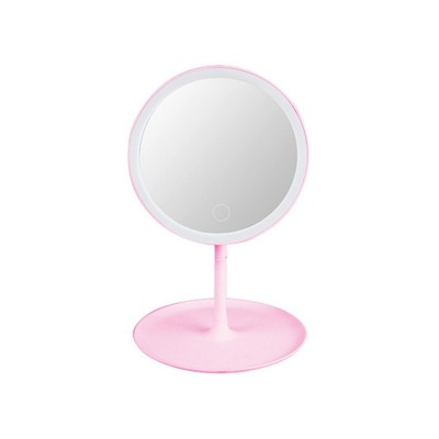 Makeup Mirror w/ LED Lighting Q-T99 Pink