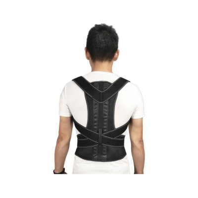 Posture Corrector w/Brace Size L Black