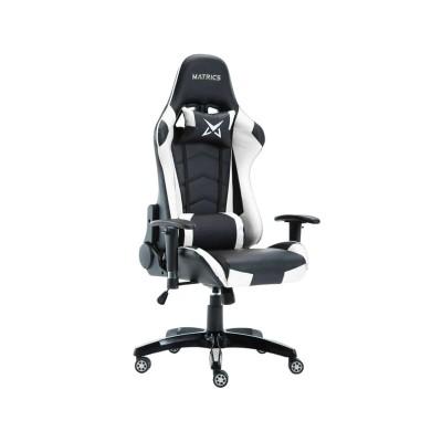 Cadeira Gaming Matrics Osiris Preta/Branca (411010)