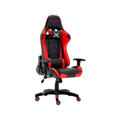 Cadeira Gaming Matrics Osiris Preta/Vermelha (410988)