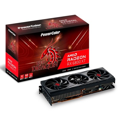 Graphics Card Powercolor Radeon RX 6800XT Red Dragon 16GB GDDR6