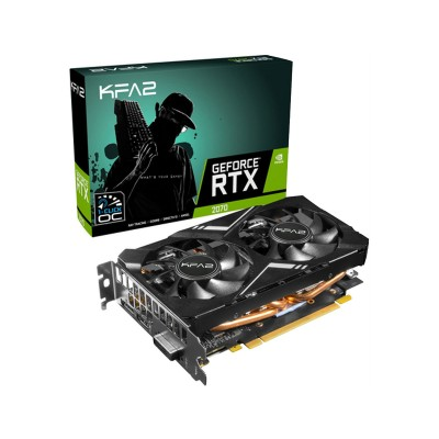 Placa Gráfica KFA2 GeForce RTX 2070 Mini 8GB GDDR6