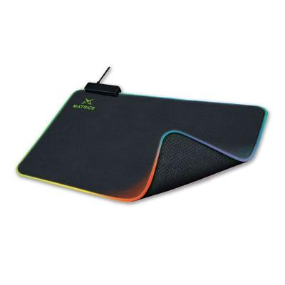 Mousepad Gaming Matrics L RGB 450x400mm Black (MPR45)