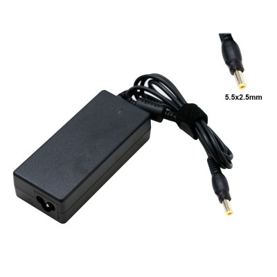 Compatible Charger Lenovo 20V 4.5A 90W 5.5x2.5MM Black