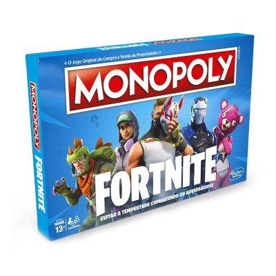 Game Monopoly Fortnite (Portuguese Version)