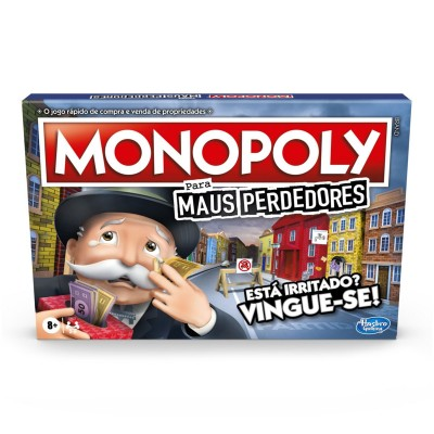 Game Monopoly Bad Losers (Portuguese Version)