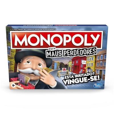 Jogo Monopoly Maus Perdedores (Versão em Português)