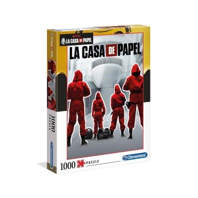 Puzzle La Casa de Papel Impossible 1000 Pieces