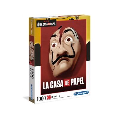 Puzzle La Casa de Papel Máscara 1000 Peças