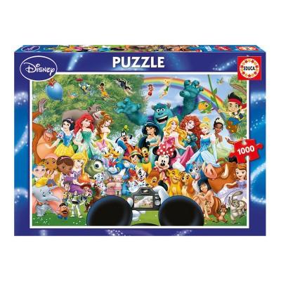Puzzle O Maravilhoso Mundo Disney II 1000 Peças