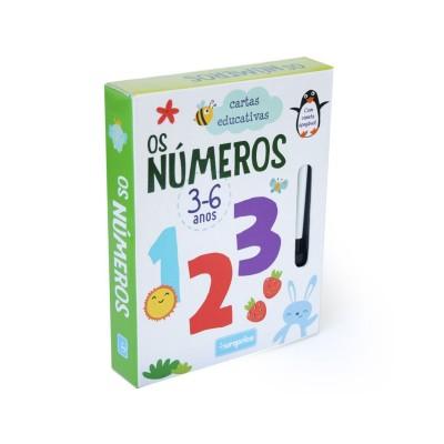 Jogo Cartas Educativas - Os Números