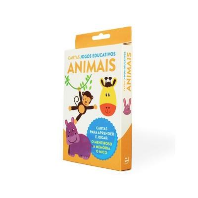 Jogo Cartas Educativas - Animais