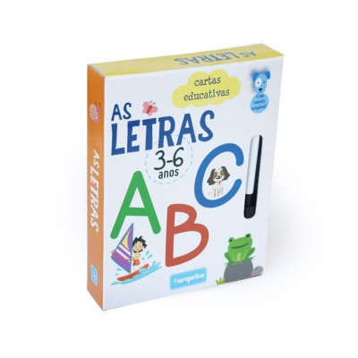 Jogo Cartas Educativas - As Letras