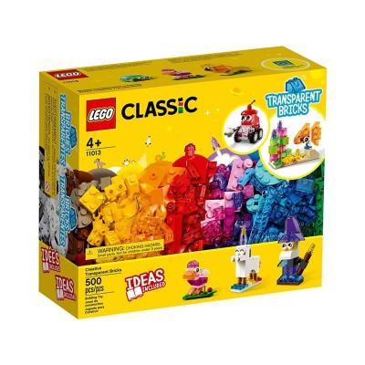 Juego LEGO Classic  - Ladrillos Creativos Transparentes